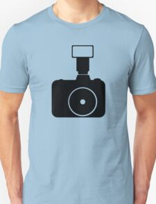 minimal photocam (plain) Unisex T-Shirt