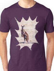 Kangaroo Watching Unisex T-Shirt