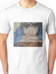 Pensive - A Portrait Of A Boy Unisex T-Shirt