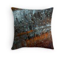 Crystal Clear Throw Pillow