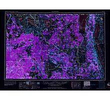 USGS Topo Map California Alturas 299718 1958 250000 Inverted Photographic Print