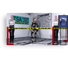 TSA-Things are just getting ridiculous. Canvas Print