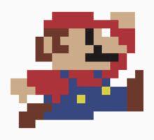 8-Bit Mario Nintendo Jumping by astropop