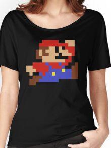 8-Bit Mario Nintendo Jumping Women's Relaxed Fit T-Shirt