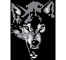 Shadow Wolf Photographic Print
