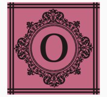 Hot Pink and Black Monogram O One Piece - Long Sleeve