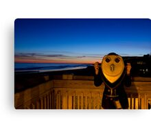 A Little Fun On the Pier Canvas Print