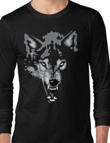 Shadow Wolf Long Sleeve T-Shirt