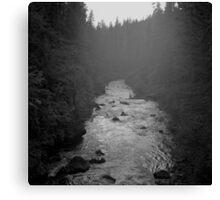 Twilight - Rogue River - Oregon Canvas Print