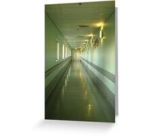 Some journeys we must take alone -  Canberra Hospital Greeting Card