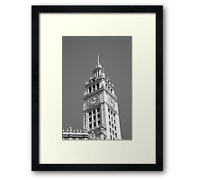 Chicago Clocktower Framed Print