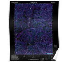 USGS Topo Map Oregon Sterling Creek 281652 1996 24000 Inverted Poster