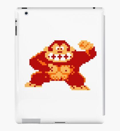 8-Bit Nintendo Donkey Kong Gorilla iPad Case/Skin
