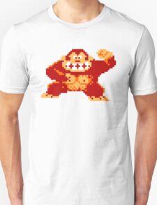 8-Bit Nintendo Donkey Kong Gorilla Unisex T-Shirt
