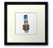 Oust - Every Weekend Framed Print