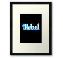 Rebel Figure Framed Print