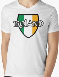 Ireland Mens V-Neck T-Shirt