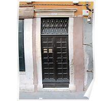 Doors of Europe-Venice Poster