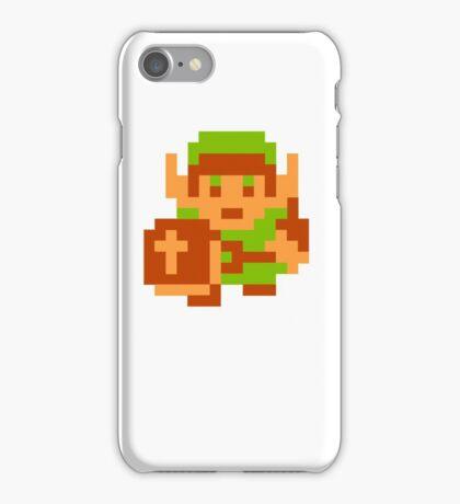 8-Bit Legend Of Zelda Link Nintendo iPhone Case/Skin