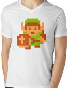 8-Bit Legend Of Zelda Link Nintendo Mens V-Neck T-Shirt