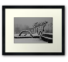 Art of Snow Framed Print
