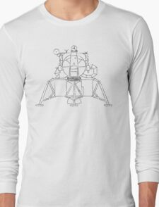 Lunar module sketch Long Sleeve T-Shirt