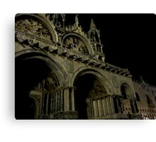 Evening at Piazza San Marco Canvas Print