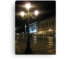 Evening at Piazza San Marco 3 Canvas Print