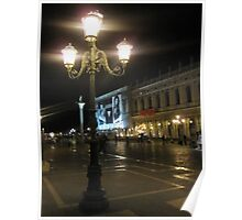 Evening at Piazza San Marco 3 Poster