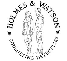 Holmes and Watson Photographic Print