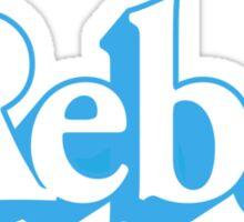 Rebel Figure Sticker