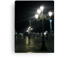 Evening at Piazza San Marco 5 Canvas Print
