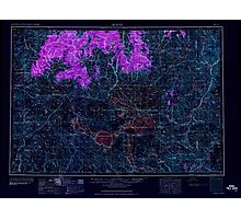 USGS Topo Map Oregon Burns 283303 1959 250000 Inverted Photographic Print