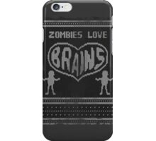Zombie knitwear iPhone Case/Skin