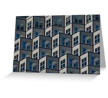 High Rise,  Window On Window Greeting Card