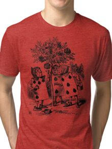 Painting the Roses Red Tri-blend T-Shirt
