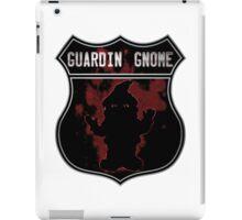 Guardin gnome iPad Case/Skin