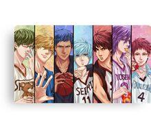 kuroko no basket anime manga shirt Canvas Print