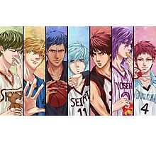 kuroko no basket anime manga shirt Photographic Print