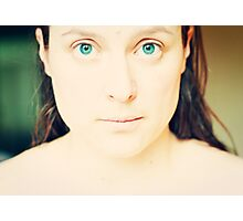 Clean Slate - Self Portrait Photographic Print