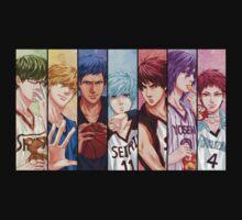 kuroko no basket anime manga shirt by ToDum2Lov3