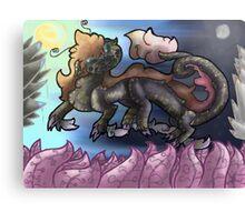 Sunlit Night Canvas Print