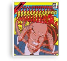 CARTOONS-X-Men: AAAAAAAAARGGGGGGH Canvas Print