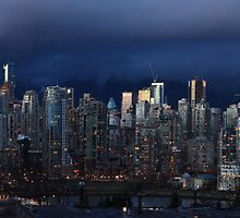 Vancouver at Twilight by Wendi Donaldson