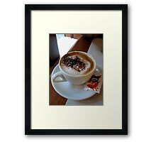 Venice Coffee Framed Print