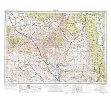 USGS Topo Map Oregon Baker 283298 1955 250000 Photographic Print