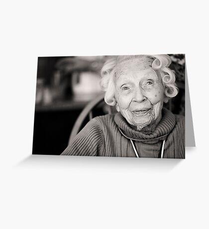 Granny Mac Greeting Card