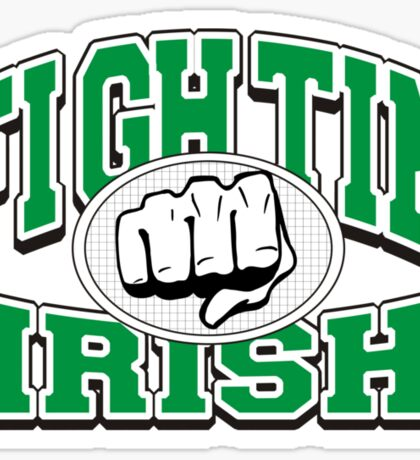 Fighting Irish Sticker