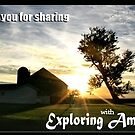 Thank You! (Banner for Exploring America) by Nadya Johnson