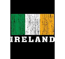 Ireland Flag Photographic Print
